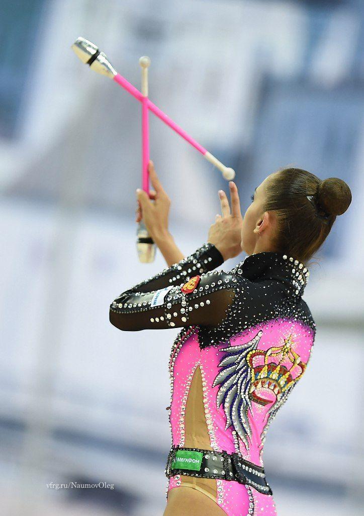 Rhythmic Gymnastics Margarita Mamun and her clothes 1.jpg