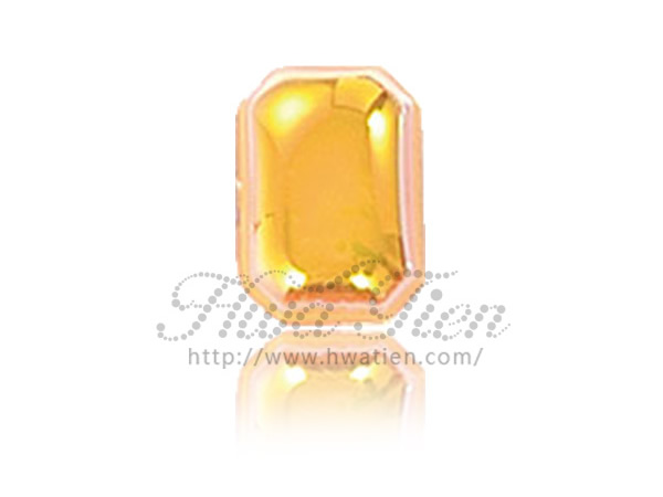 Octagon Half Acrylic Gemstone, by Hwa Tien Expert Supplier